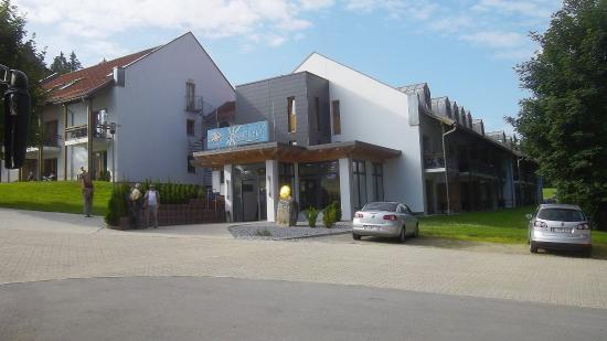 Sporthotel Sonnenhof: Eingang z. Hotel
