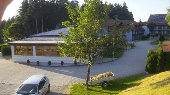 Sonnen, Alemania: Blick Ri. Innenhof u. Speisesaal