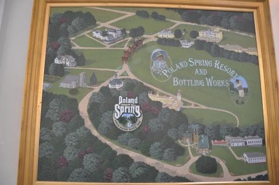 Poland Springs, Мэн: The grounds of Poland Spring
