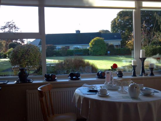 Copperfield House: View from the breakfast room