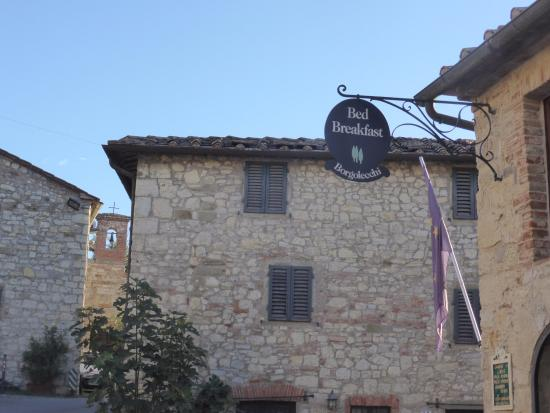 Borgo Lecchi B&B: Facciata