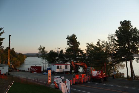 Lac-Brome, كندا: réparation majeure de la route