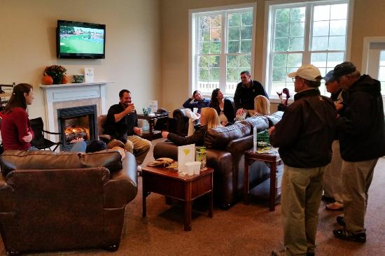 Conway, SC: Lounge area