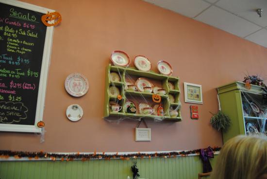Royals English Tea Room Menu