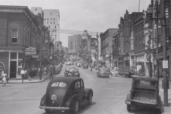 Danville Virginia Downtown In The 1940 S Picture Of