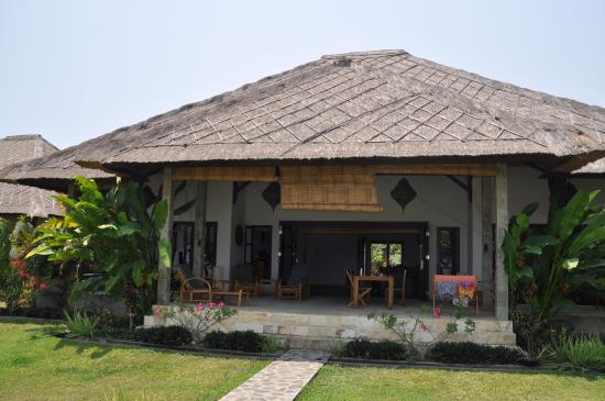 Kundalini Beach Houses : Hausansicht von vorne