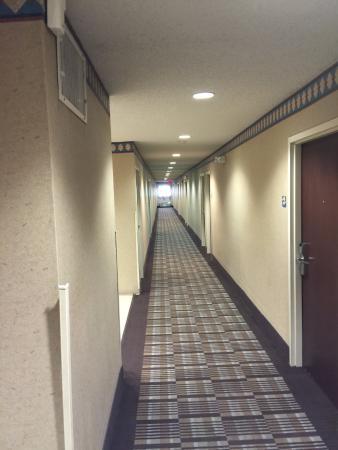 Microtel Inn & Suites by Wyndham Bossier City: 3rd Floor Hallway