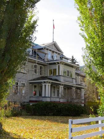 Quilchena, Canadá: the hotel in the fall