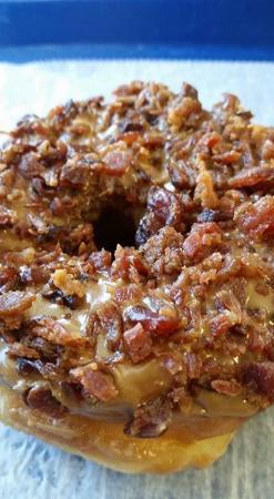 Minneola, فلوريدا: Maple Bacon donut