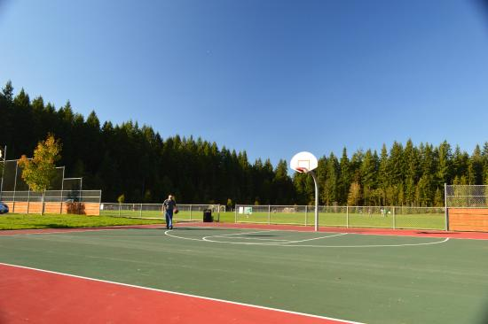 Lake Stevens Community Center Basketball Court and Soccer Field