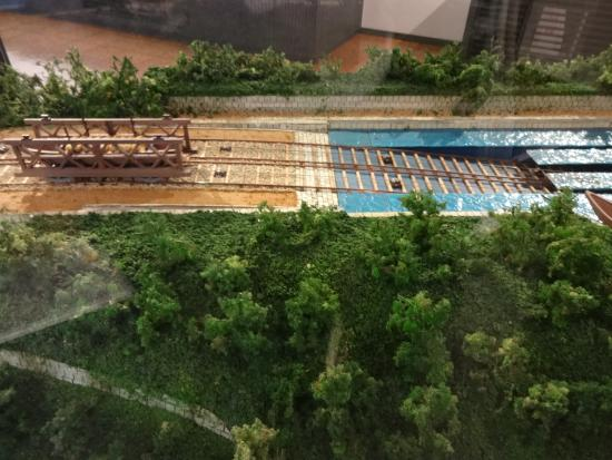 琵琶湖疏水記念館, 資料館 ジオラマ