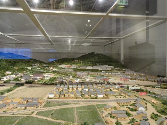 琵琶湖疏水記念館, 資料館 ジオラマ2