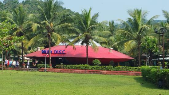 United 21 Panoramic Resort, Karnala: Rain Dance Venue - out side view