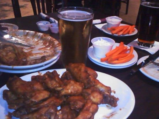 B Merrell's: Wings on a Friday Night