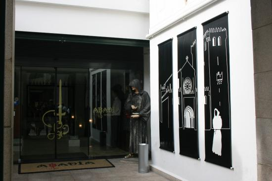 Déco extérieur picture of restaurante abadia do porto