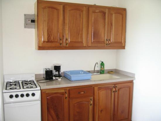 Siesta Hotel: One Bedroom Apartment Kitchen