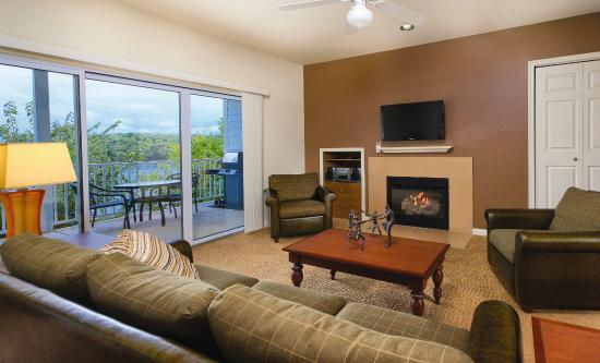 WorldMark Lake of the Ozarks : 3 Bedroom Living Room