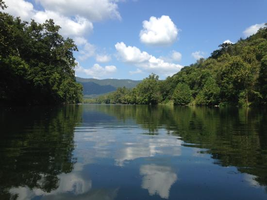 shenandoah river from kayak - Picture of Shenandoah River Outfitters ...
