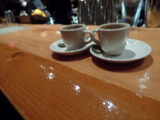 Cork Factory Hotel: bar espresso