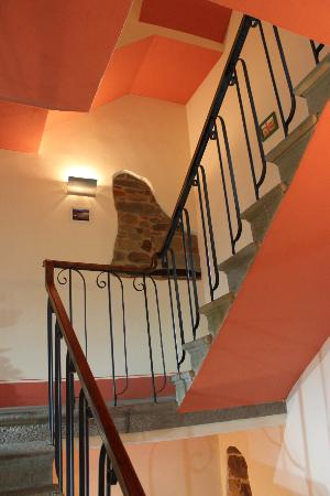 Bed & Breakfast Viziottavo: Scala interna