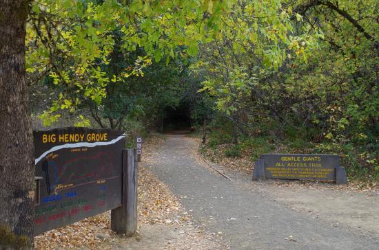 Boonville, Californien: Trailhead