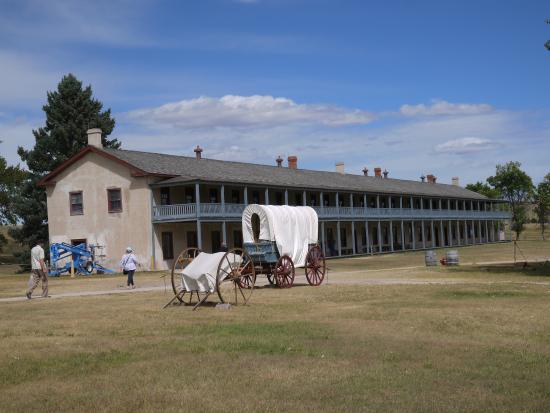 Fort Laramie, WY: Cavalry Barracks