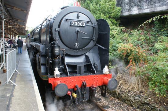 Britannia steam locomotive - Изображение The Railway Touring