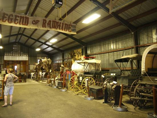 Lusk, Wyoming: Downstairs of the museum