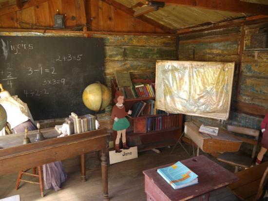 Lusk, Wyoming: The schoolhouse