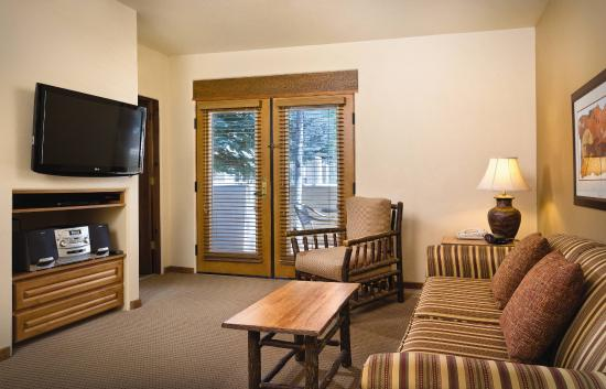 Worldmark Taos: Studio Living Room