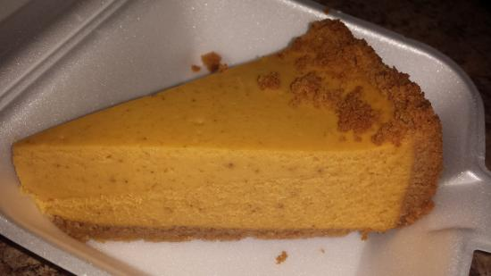 Michigamme, MI: Pumpkin Cheesecake