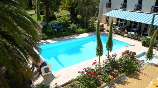 Aigue Marine Hotel: piscine extérieur  vue de la chambre