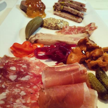 Blue Bicycle: Charcuterie