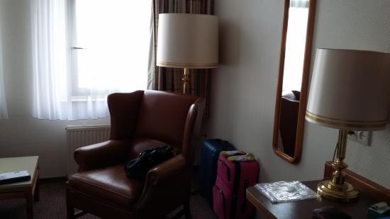 Fletcher Hotel-Restaurant De Zalm : bedroom