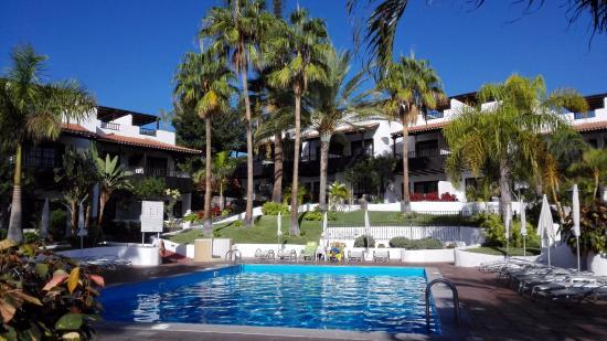 Piscina picture of hotel jardin tecina playa de for Piscina hotel w santiago