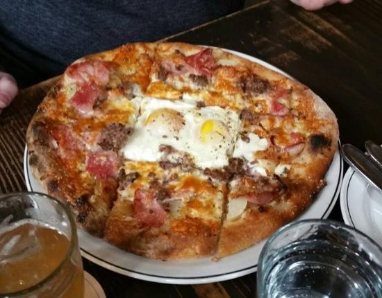 Breakfast Pizza - Picture of Woodberry Kitchen, Baltimore ...