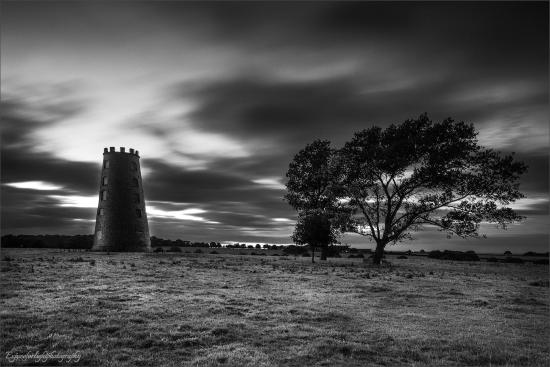 Beverley Westwood: This is the Black Mill on the westwood