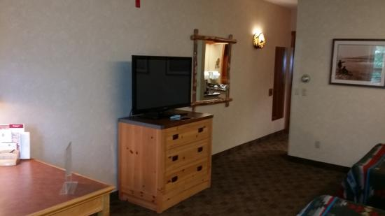 Heathman Lodge: Spacious room
