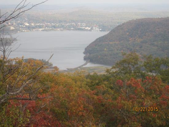 Bear Mountain, NY: View of the Hudson River From Perkins Memorial Drive