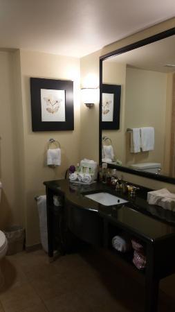 Holiday Inn Express Hotel & Suites Columbia-Fort Jackson: Bathroom