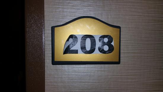 Comfort Inn Lancaster - Rockvale Outlets: Room Number