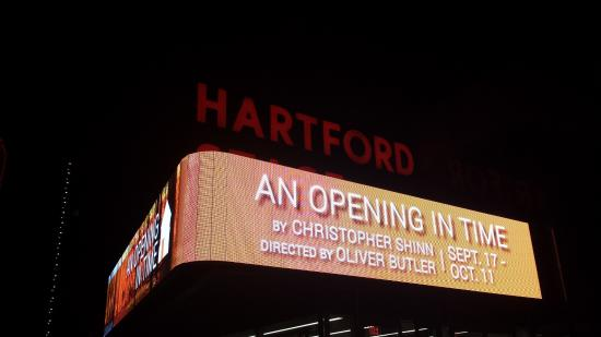 The Hartford Stage Marquee