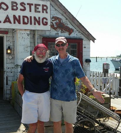 Clinton, CT: The owner & me...