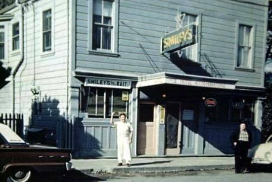 Bolinas, CA: Smiley's around 1945
