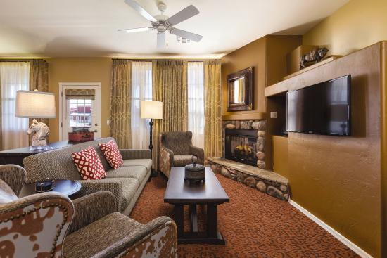 WorldMark Bison Ranch: Living Room