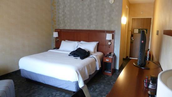 Courtyard Detroit Dearborn: Hotelzimmer
