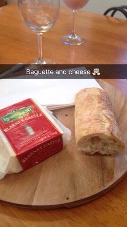 Leesburg, VA: Cheese ($7) and Baguette ($3)