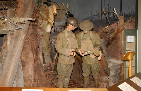Illinois State Military Museum: WWI Exhibit