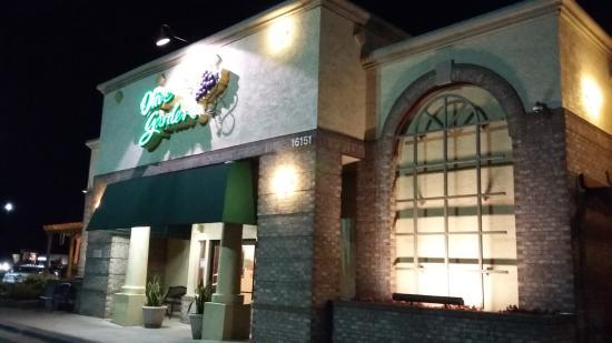 Olive Garden: Restaurant Eingang