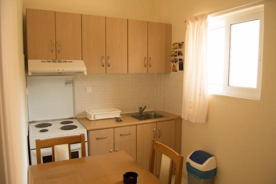 Elea Hotel: keuken
